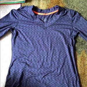 Long sleeve flex fit shirt